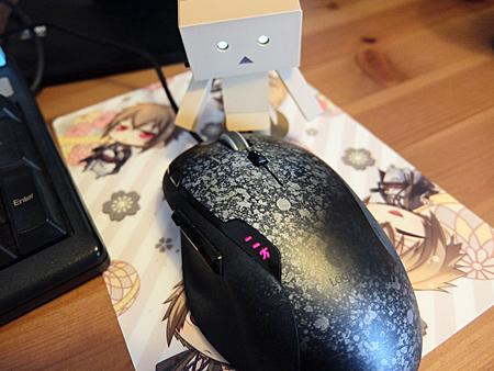 超お気に入りレーザーゲーミングマウス G500が壊れたみたい。